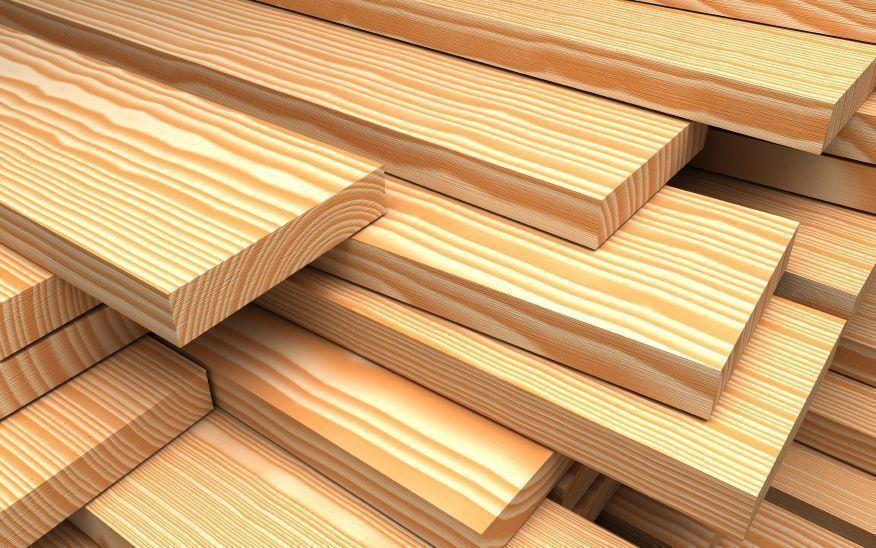 лиственница или древесина лиственных пород